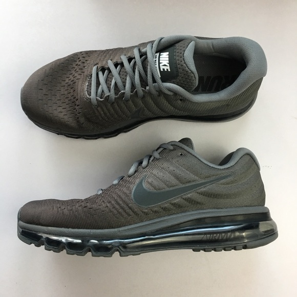 purchase cheap eafe3 dbac1 Nike Air Max 2017 Cool Grey Anthracite Dark Grey NWT